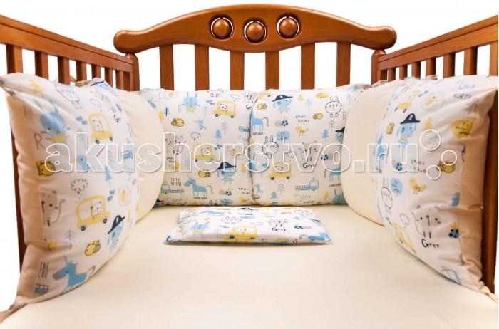 Бампер для кроватки Daisy Комплект подушек для бампера Пират 2 шт.