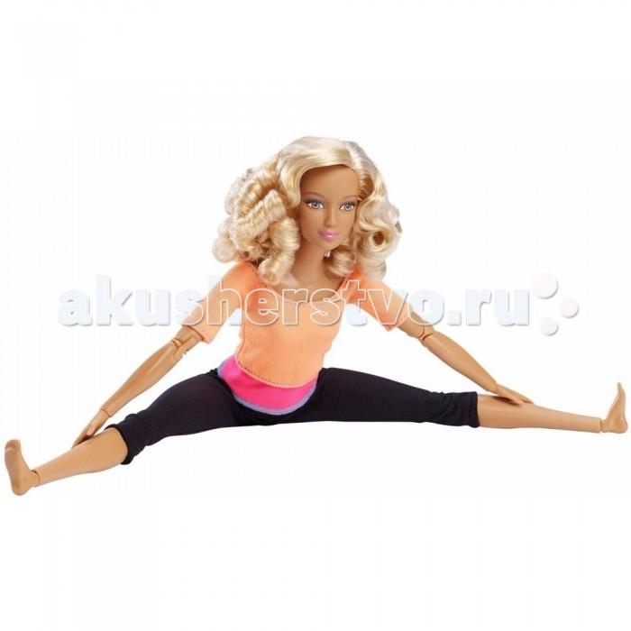 Barbie Кукла Барби из серии Безграничные движения Блондинка в оранжевом топе