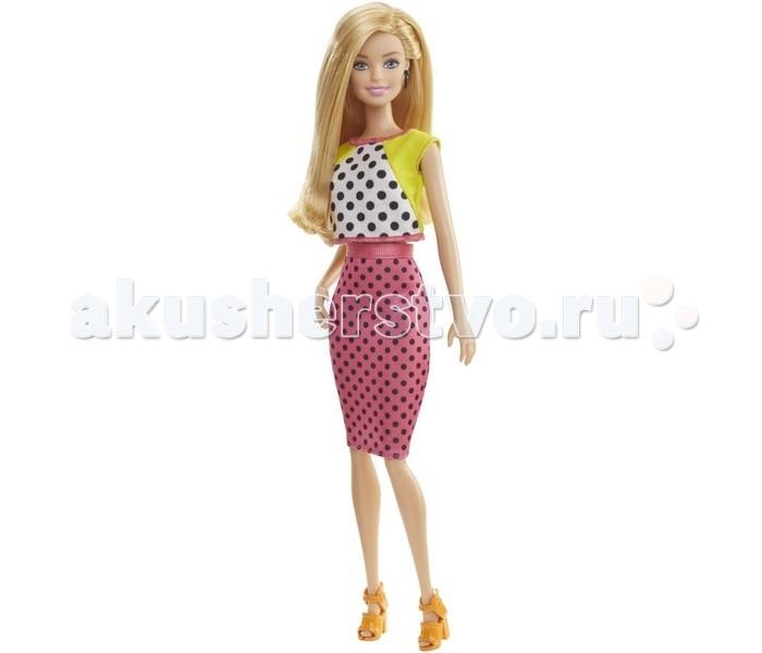 Barbie Кукла Барби Игра с модой блондинка в розовой юбке