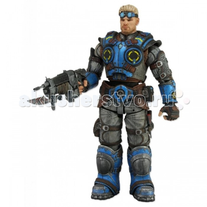 Neca Фигурка Gears of War Judgment 7 Damon Baird