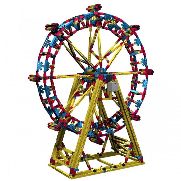 Конструктор Engino с мотором Mega Structures Лондонский Глаз 1718 деталейс мотором Mega Structures Лондонский Глаз 1718 деталейКонструктор с мотором Лондонский Глаз из серии Mega Structures обязательно заинтересует любителей игрушек, которые нужно собрать самому. Лондонский глаз - это огромное колесо обозрения, являющееся одним из самых высоких в мире. Играя с этим набором, ребенок соберет трехмерные сооружения, дополняющие его сюжетные игры или же модели сами станут главными персонажами игры. Яркий цвет и отличное качество деталей обязательно привлекут внимание не только ребенка, но и взрослых.  В комплекте:  Детали конструктора; Мотор; Чертежи; Инструкция.  Основные характеристики:   Количество деталей: 1718 шт. Размер упаковки: 55 х 40 х 10 см Высота собранной модели: 90 см Вес в упаковке: 4.5 кг<br>
