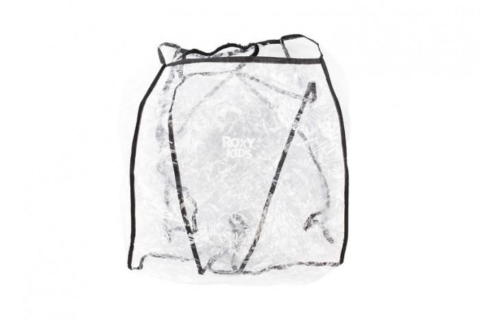 Дождевик Roxy Универсальный в сумкеУниверсальный в сумкеRoxy-kids Дождевик на коляску универсальный в сумке  Дождевик для коляски Аксессуар призван защитить малыша и коляску от любой непогоды: дождя, снега, града или просто сильного ветра. Дождевик для коляски изготовлен из высокопрочного эластичного полимера.   Он полностью прозрачен, поэтому не закрывает малышу кругозор, мама также видит, чем занят малыш. Аккуратно выполненные швы герметичны, не дают течи и не сквозят. Для удобства предусмотрены удобные застежки и вентиляционные отверстия.   Дождевик для коляски производится в России из экологичных материалов, универсален, подходит для большинства типовых люлек.<br>