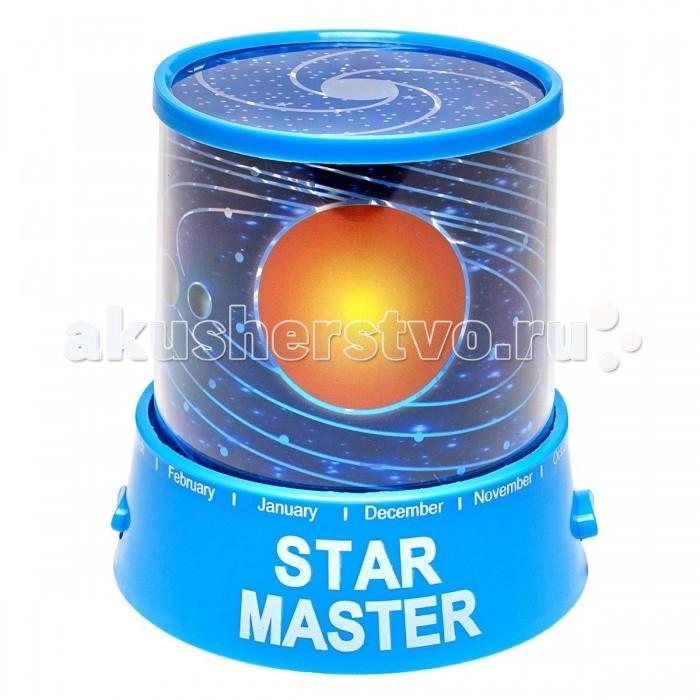 Family Fun Ночник-проектор Звездное небо Вселенная голубой