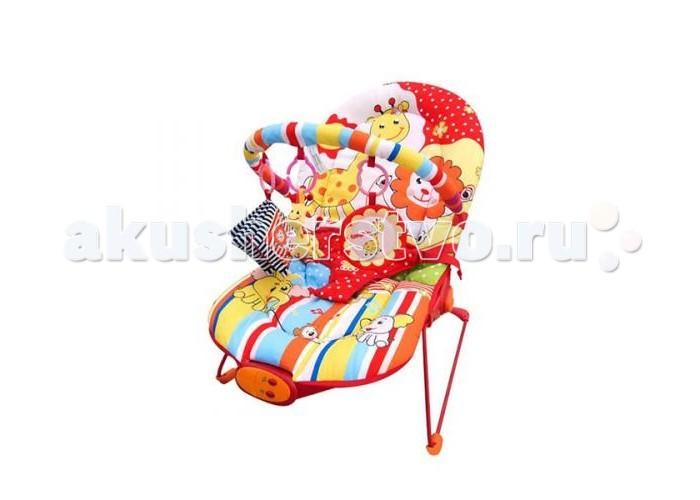 Жирафики Детское кресло-качалка Веселый зоопаркДетское кресло-качалка Веселый зоопаркДетское кресло-качалка Жирафики Веселый зоопарк    Особенности:    Вибрация, 10 мелодий, регулировка громкости звука.   Дуга с 3-мя развивающими игрушками: погремушка динозавр, шуршащая тканевая книжечка, зеркало.   3 позиции положения кресла.  3-х точечный ремень безопасности.  Ограничение по весу -до 9  Размеры 51х78х59 см.<br>