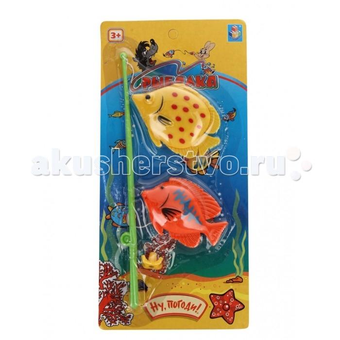 1 Toy Игрушка для ванны Ну ПогодиИгрушка для ванны Ну Погоди1 Toy Игрушка для ванны Ну Погоди представляет собой удочку и две рыбки на магнитах.  Особенности: Это развлекательная игра привлечет малыша к игре своим ярким дизайном и интересным занятием, требующим ловкости.  Ребенок с радостью начнет рыбачить при помощи этих игрушек, нужно лишь наполнить емкость водой или взять с собой игру в бассейн или водоем.  Игра поможет развить у ребенка координацию движений, ловкость и попросту развлечь его.  Внимание! Цветовое исполнение игрушек набора варьируется и может отличаться от представленного на фото.<br>