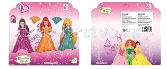 1 Toy Набор из кукл Волшебная сказка Красотка 11 смНабор из кукл Волшебная сказка Красотка 11 см1 Toy Набор из кукл Волшебная сказка Красотка 11 см станет для девочки хорошей и верной подружкой.  В комплекте: 3 куклы с платьями-прищепками, 3 аксессуара.<br>
