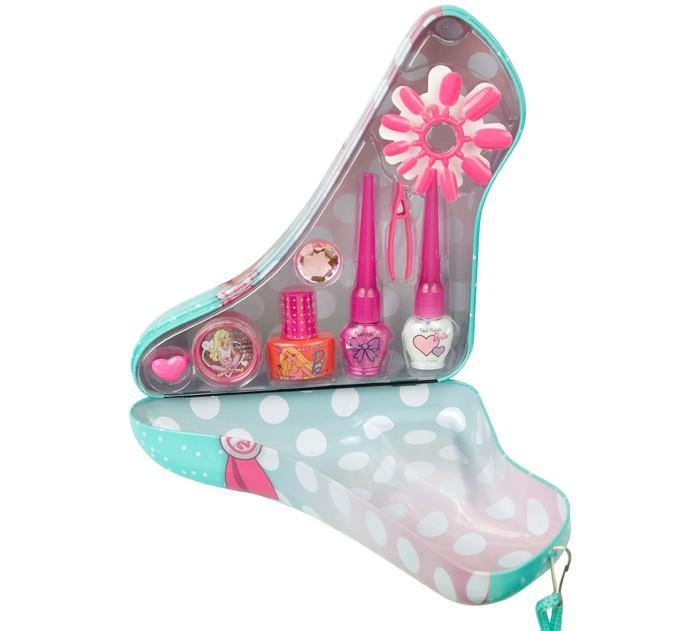 Markwins Набор детской декоративной косметики Barbie в зеленой туфельке