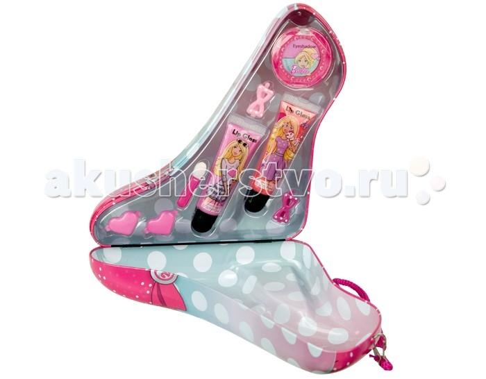 Markwins Набор детской декоративной косметики Barbie в розовой туфельке