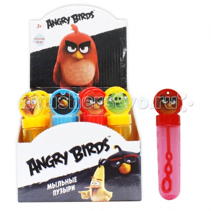 1 Toy Мыльные пузыри Angry Birds колба с кругом на крышке 40 мл