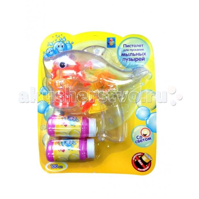 1 Toy Набор с мыльными пузырями Мы-шарикиНабор с мыльными пузырями Мы-шарики1 Toy Набор с мыльными пузырями Мы-шарики представляют собой развлекательную игрушку.  Особенности: Пускание мыльных пузырей – занятие, которое очень нравится детям, ведь они так волшебно переливаются всеми цветами радуги.   В наборе Мы - шарики! есть специальный механический пистолет для генерации пузырей. Он прозрачный, обладает световыми эффектами, что сделает процесс еще более увлекательным.  К тому же для использования пистолета не нужны батарейки.  В комплекте: пистолет, 2 бутылочки с раствором по 50 мл.<br>