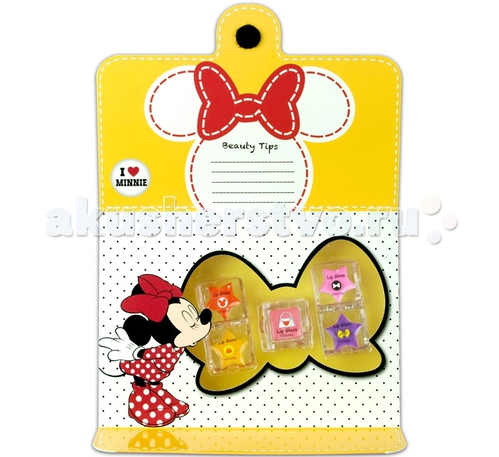 Markwins Набор детской декоративной косметики Minnie для губ