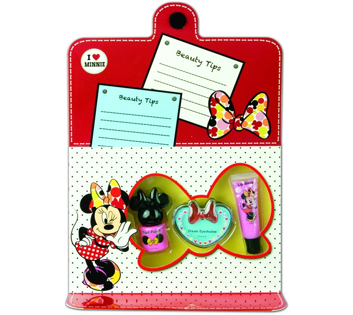 Markwins Набор детской декоративной косметики для лица и ногтей Minnie