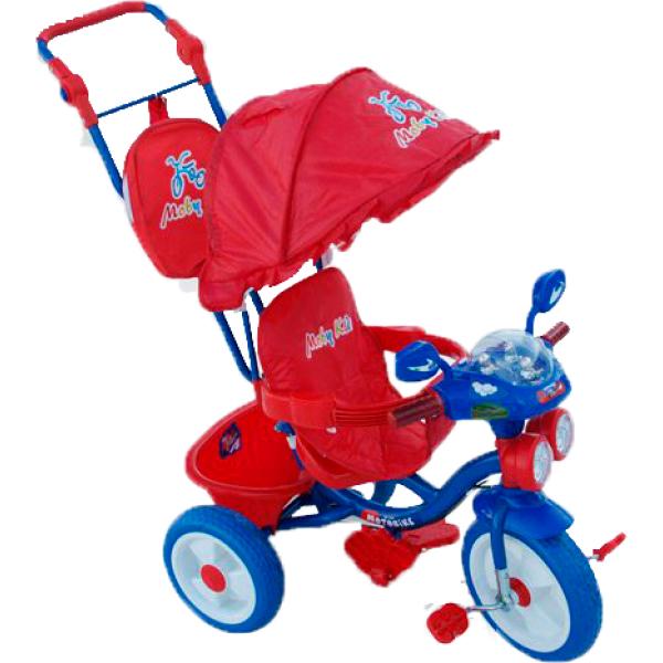 Трехколесные велосипеды Moby Kids 64258