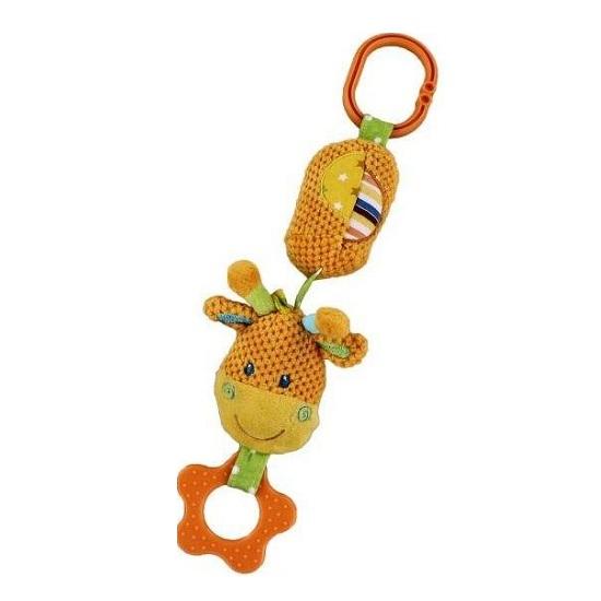 Подвесная игрушка Жирафики Жирафик с колокольчиком