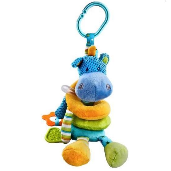 Подвесная игрушка Жирафики Растяжка Бегемотик