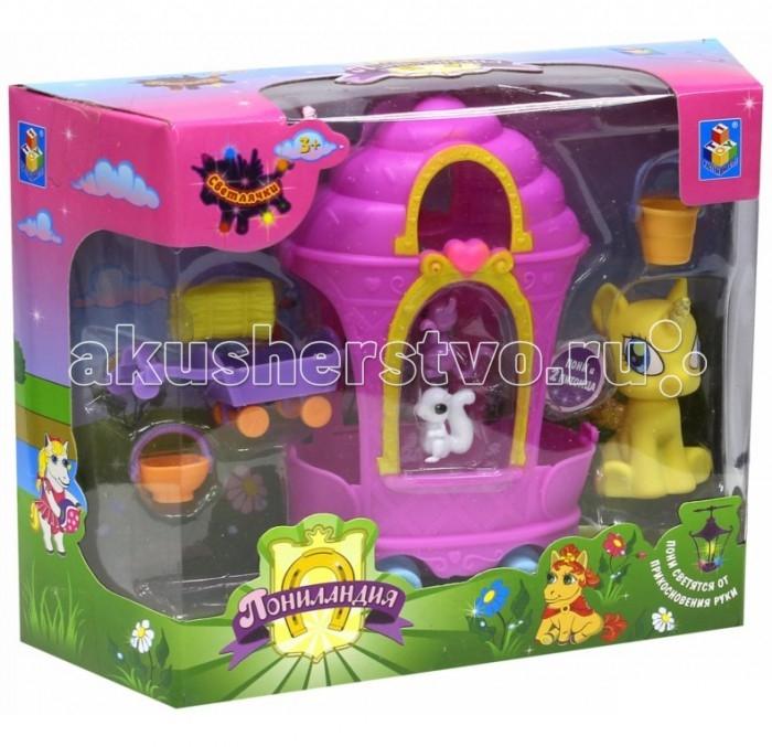 1 Toy Игровой набор Пониландия Светлячки Пони с повозкой