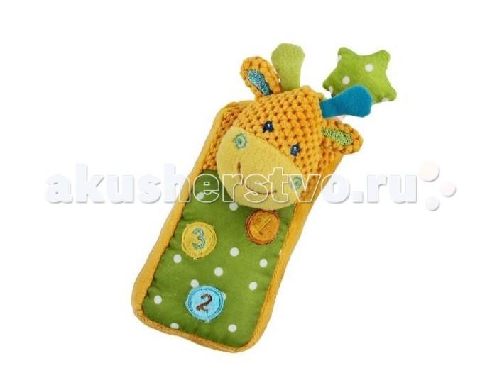 Развивающая игрушка Жирафики Телефон ЖирафикТелефон ЖирафикРазвивающая игрушка Телефон Жирафик Жирафики  Развивающие игрушки «Жирафики» сочетают в себе множество функций. Все они сшиты из кусочков тканей разных цветов, причем цвета эти очень яркие и насыщенные.  Внутри самих игрушек или их отдельных деталей – маленькие сюрпризы: погремушки, пищалки, «шуршалки». Подобные игрушки просто необходимы малышам первого года жизни для развития моторики пальчиков, тактильных ощущений, слуха, зрительного восприятия. Развивающие игрушки «Жирафики» помогут малышам совершить много интересных удивительных открытий!<br>