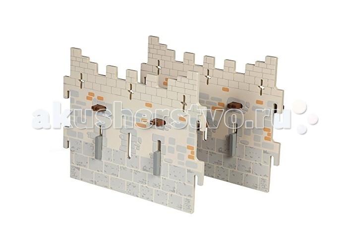 Papo Замок рыцарей - 2 широкие съемные стеныЗамок рыцарей - 2 широкие съемные стеныИгровой набор Papo Замок рыцарей - 2 широкие съемные стены  Игровые фигурки Papo позволят ребенку познакомиться с окружающим его миром, развить воображение. Они расширяют возможности ролевых игр. С помощью фигурок дети смогут создать свой зоопарк, побывать на рыцарском турнире, спасти прекрасную принцессу от злых пиратов или заглянуть в доисторические времена.  Все фигурки Papo проходят тщательную подготовку и обработку, поэтому они крепкие и долговечные.  Размер фигурки: 26 х 20 х 5 см.<br>
