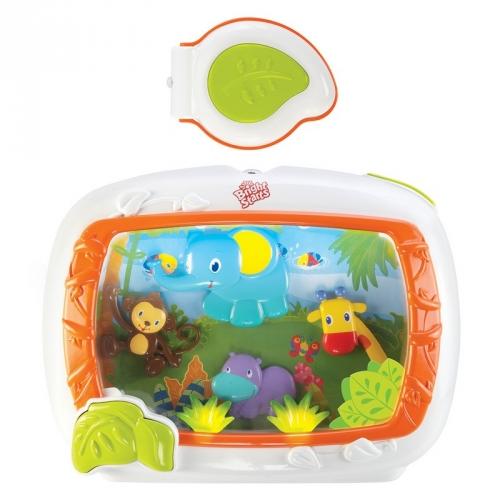Подвесная игрушка Bright Starts Интерактивная панель Сафари