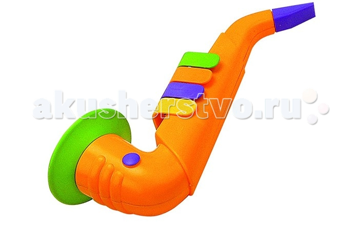 Музыкальная игрушка Reig Саксофон Натура 4 клавиши