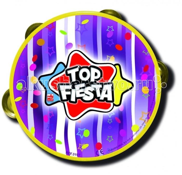 Музыкальная игрушка Reig Бубен Топ Фиеста