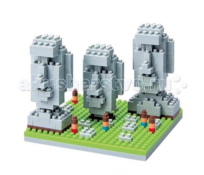 Конструктор Nanoblock Остров Пасхи 320 элементовОстров Пасхи 320 элементовNanoblock Остров Пасхи  320 элементов  Микро-конструктор NanoBlock (Япония) - самый маленький в мире конструктор, крайне необычный, как все японское. Высокоточные трехмерные модели из деталей подобных Лего, но предельно уменьшенных в размерах, стали хитом в Японии и буквально произвели фурор в Америке, Европе, Азии и Австралии.   Самая маленькая деталь конструктора - 4 мм х 4 мм, а классический прямоугольный элемент 2-на-4 точки имеет размер 8 мм х 16 мм и 5 мм высотой. Запатентованный дизайн деталей и высочайшее качество пластика обеспечивают надежное соединение даже при таких небольших размерах. Нано-размер деталей позволяет добиться невероятной реалистичности у собранных конструкций.   В результате получаются небольшие по масштабу объекты невиданной точности.Конструктор продается в пакете или коробочке с заданным количеством деталей, необходимых для сборки объекта указанного на упаковке.Сборка одного объекта в среднем занимает от 10 минут до нескольких часов.<br>