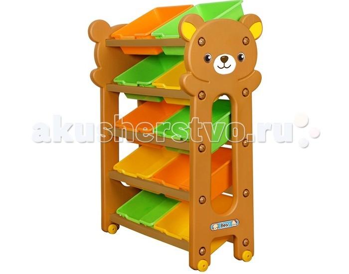 Gona Toys Стеллаж для хранения игрушек (5 секций)Стеллаж для хранения игрушек (5 секций)Стеллаж для хранения игрушек Gona Toys   Особенности:    Стеллаж детский пластиковый, представляет собой красивую, современную и функциональную мебель, которая идеально впишется в интерьер детской комнаты.  Глубокие ящики вместительные и идеально подойдут как для игрушек ,так и для любых других вещей вашего ребенка.   Мебель выполнена из высококачественного пластика.   Размер: 79 х 41 х 109 см Размер упаковки: 104 х 31 х 42 см<br>
