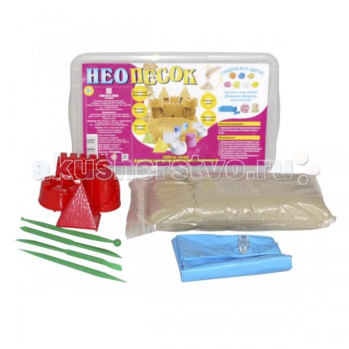 Family Fun Набор для игры с песком НеоПесок 2 кг