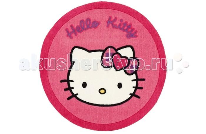 Boing Carpet Ковёр Hello Kitty 70 см НК-15ВКовёр Hello Kitty 70 см НК-15ВКовёр Hello Kitty 70 см НК-15В непременно оценят девочки подростки, поклонницы одноименного мультфильма.  Он станет современным элементом в дизайне девичьей комнаты и принесет много положительных эмоций, добавив тепла и уюта.   В состав волокон, используемых при его производстве входит Хитозан - вещество 100% натурального происхождения, обладающее антибактериальным свойством и нейтрализующее запахи.  Высота ворса составляет 10 мм.<br>