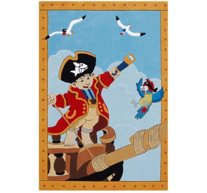 Boing Carpet Ковёр Captn Sharky 2366Ковёр Captn Sharky 2366Ковёр Captn Sharky 2366 идеально подойдет для оформления дизайна в морском стиле и позволит наслаждаться яркими цветами в течении длительного времени. Он непременно понравится мальчишкам, увлеченным пиратской тематикой.   Теплый, мягкий и не прихотливый в эксплуатации ковер обладающий повышенной цветостойкостью. В состав волокон, используемых при производстве ковра входит Хитозан - вещество 100% натурального происхождения, обладающее антибактериальным свойством и нейтрализующее запахи.  Высота ворса составляет 10 мм.<br>