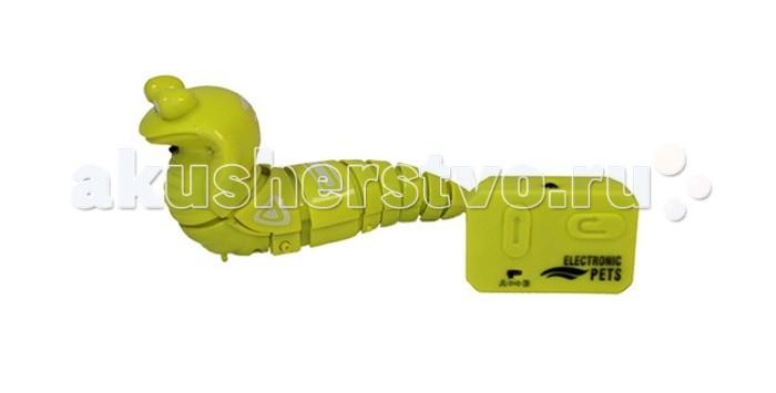 Интерактивная игрушка JoyD Робот КобраРобот КобраИнтерактивная игрушка JoyD Робот Кобра забавная скоростная улитка, которая развивает скорость до 5 км/ч.  Модель выполнена из прочного и безопасного пластика, специальное устройство корпуса позволяет сделать все движения робота предельно легкими и реалистичными, а благодаря наличию световых эффектов такая игрушка уж точно станет ключевой в самых разных играх и приключениях. Змея умеет ползать и менять направление движения, поворачивая в левую и правую сторону.   Яркая и красивая улитка, без сомнения, привлечет внимание малыша и вызовет у него много положительных эмоций.<br>