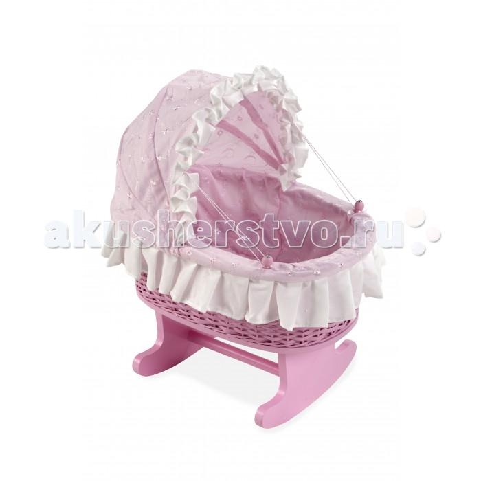 Кроватка для куклы Arias Деревянная Elegance 44 см