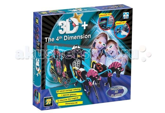 Конструктор AMAV (Diamant) Набор Карета из бархата 3DНабор Карета из бархата 3DНабор Карета из бархата 3D AMAV (Diamant) 2480.  Тем детям, которые любят мастерить и создавать оригинальные подарки, обязательно понравится набор Карета из бархата 3D. Проявив всю свою смекалку, ребенок должен собрать карету как указано в инструкции.   В наборе:  3D очки бархатная бумага маркеры клей клей с блестками стразы инструкция<br>