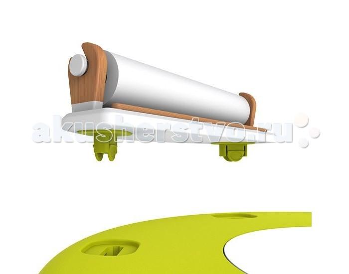 Oribel Ролл-диспенсер для бумаги для PortaPlayРолл-диспенсер для бумаги для PortaPlayПреобразуйте ваш PortaPlay в стол творчества с диспансером для бумаги. Этот прочный деревянный держатель надежно крепится в пазы к столу.  В него уже установлен 20-метровый рулон белой бумаги, на которой можно рисовать карандашами, фломастерами и красками.  Oribel переводится как оригинальная красота. Бренд создан с идеей, что оригинальные идеи и эстетика принадлежат друг другу.  С помощью оригинальных и инновационных продуктов Oribel создает решения, которые делают родительские дни более приятными.<br>