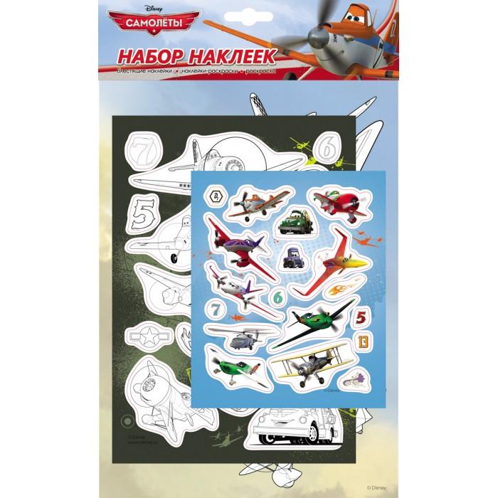 Disney Набор наклеек 21132Набор наклеек 21132Disney Набор наклеек.  Набор 3 в 1! Ребенок может раскрашивать картинки, украшать наклейками свою комнату или тетради и создавать наклейки самостоятельно - раскрашивать черно-белые наклейки.<br>