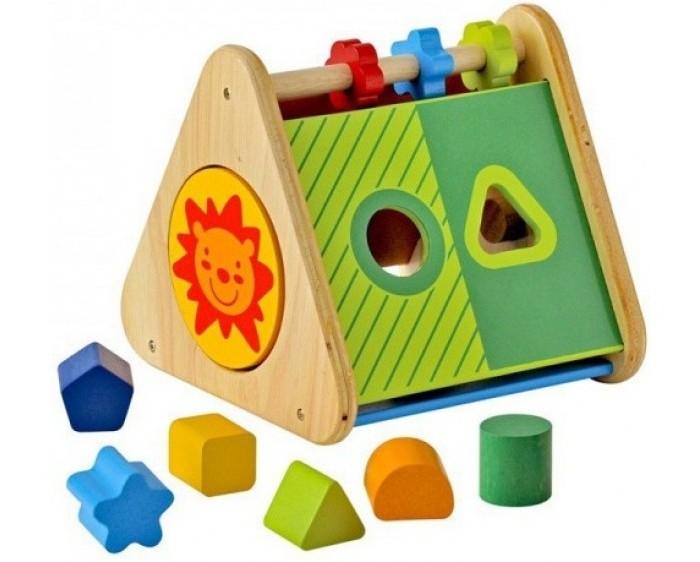 Деревянная игрушка I`m toy Сортер Развивающий треугольник