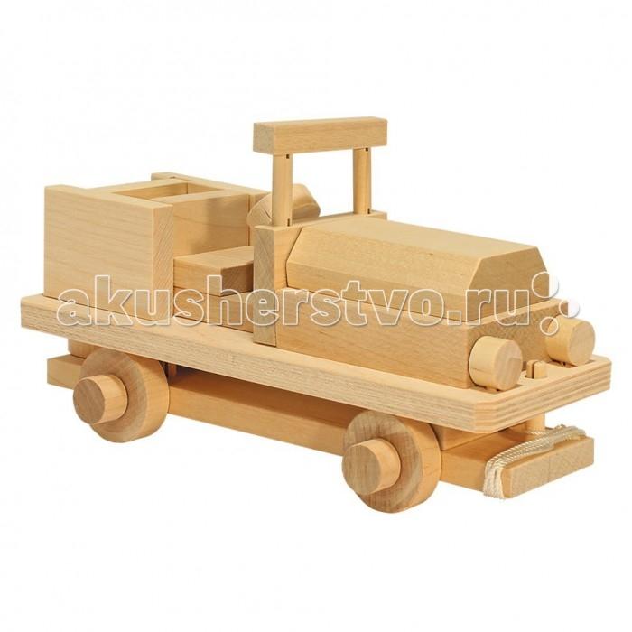 Каталка-игрушка Теремок Конструктор Военный джип