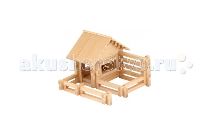 Конструктор Теремок Архитектор 2 139 деталейАрхитектор 2 139 деталейТеремок Архитектор 2 139 деталей  Из конструктора Архитектор 2 можно построить все дома, представленные на коробке, а также придумать и собрать свои модели.   Детали конструктора выполнены из неокрашенного дерева. Для детей от 5-ти лет.<br>