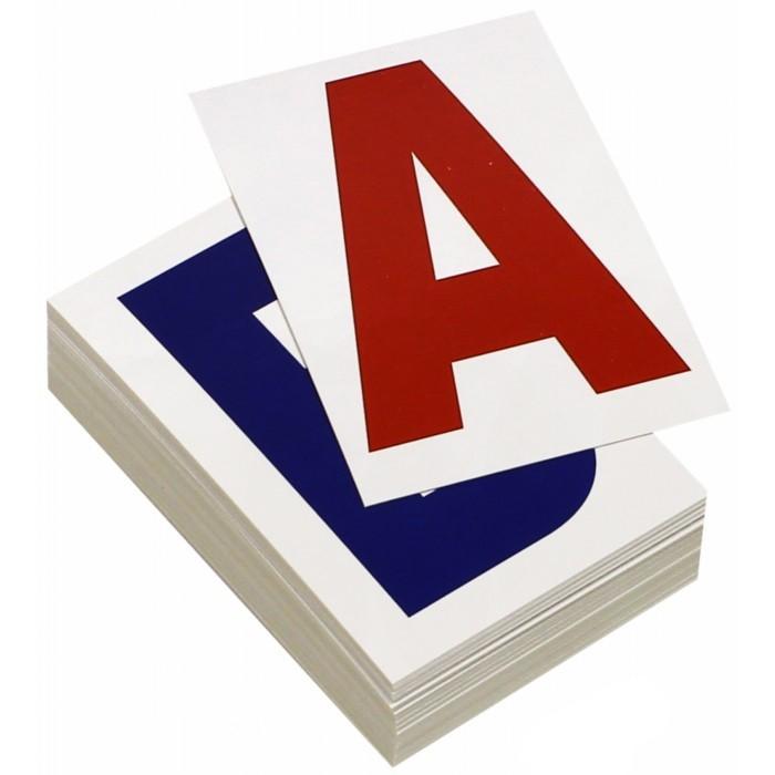Вундеркинд с пелёнок Набор обучающих карточек Буквы 48 шт.