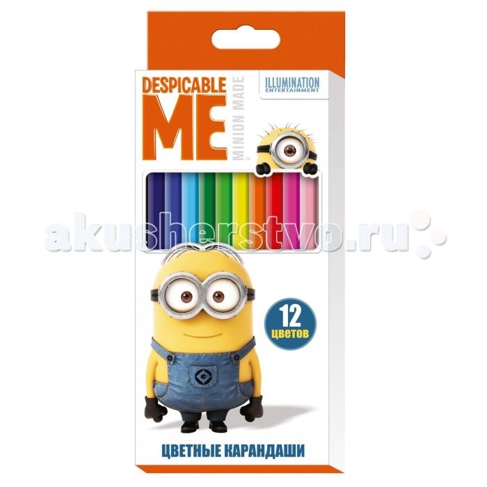 Universal Studios Цветные карандаши Гадкий Я 12 цветов