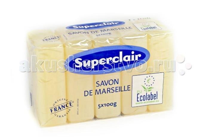 Superclair Мыло марсельское глицериновое 5 шт. по 100 г
