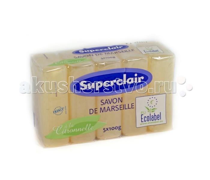 Superclair Мыло марсельское Цитронелла 5 шт. по 100 г