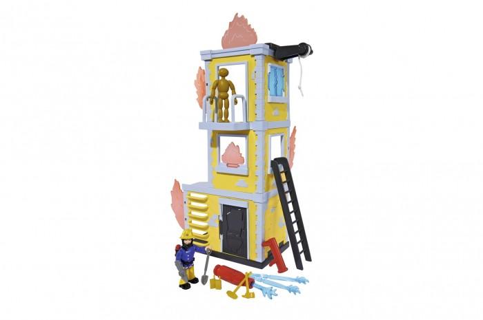 Simba Пожарный Сэм Большая тренировочная база с фигуркой и аксессуарами 42 см