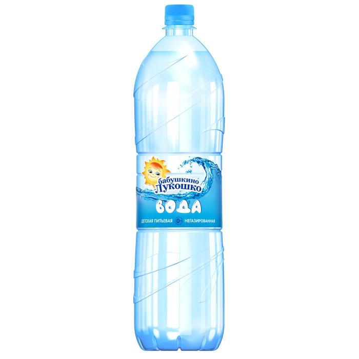 Бабушкино лукошко Вода питьевая детская 1,5 л