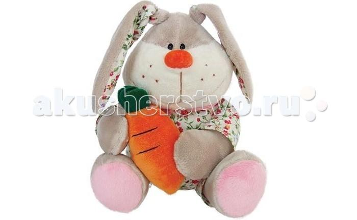 Мягкая игрушка Sonata Style Заяц в одежде с морковкой 12 смЗаяц в одежде с морковкой 12 смМягкая игрушка Sonata Style Заяц в одежде с морковкой 12 см очень хочет найти себе друга.  Особенности: Она изготовлена из качественных материалов, которые абсолютно безвредны для ребенка.  Плюшевый зайчик обязательно понравится вашему малышу.  Игрушка способствует развитию воображения и тактильной чувствительности у детей.<br>
