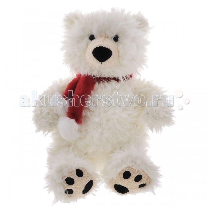 Мягкая игрушка Plush Apple Медведь Полярный с шарфом 57 смМедведь Полярный с шарфом 57 смМягкая игрушка торговой марки Plush Applе отличный подарок ребенку и даже взрослому.  Плюшевый друг Медведь Полярный с шарфом согреет холодными вечерами, выслушает, разделит с вами минуты радости.  При изготовлении игрушек используется уникальная технология, новейшие материалы, авторский дизайн и ручная проработка деталей, что позволяет производителю добиваться удивительного качества мягкой игрушки.  Размер игрушки 57 см<br>