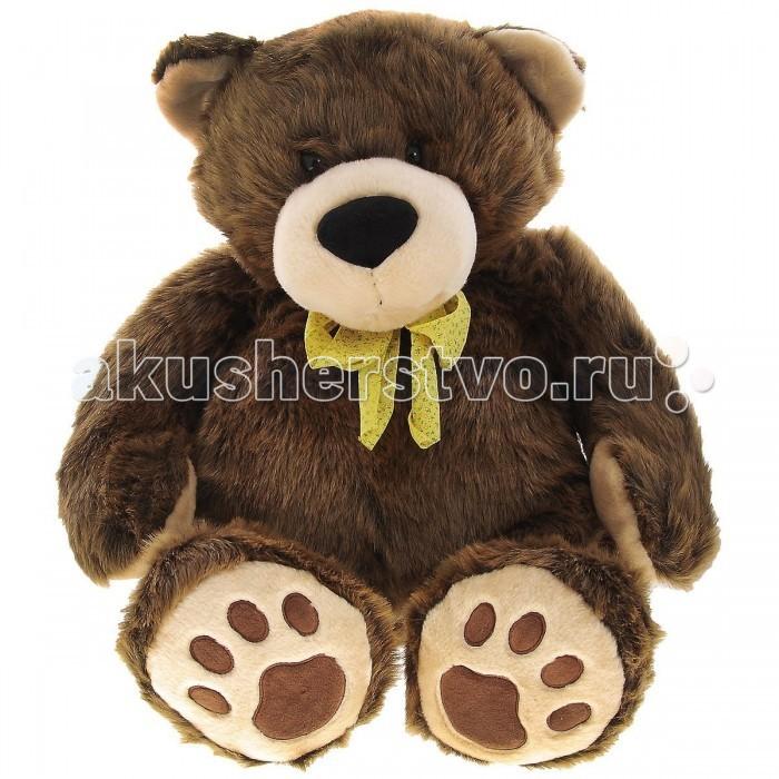 Мягкая игрушка Plush Apple Медведь коричневый 87 смМедведь коричневый 87 смМягкая игрушка торговой марки Plush Applе отличный подарок ребенку и даже взрослому.  Плюшевый друг Медведь коричневый согреет холодными вечерами, выслушает, разделит с вами минуты радости.  При изготовлении игрушек используется уникальная технология, новейшие материалы, авторский дизайн и ручная проработка деталей, что позволяет производителю добиваться удивительного качества мягкой игрушки.  Размер игрушки 87 см<br>