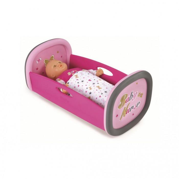 Кроватка для куклы Smoby Колыбель для пупса Baby Nurse 220313