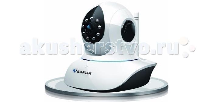 Vstarcam Корпусная камера в комплекте  C8838WIP(С38A)Корпусная камера в комплекте  C8838WIP(С38A)Панорамная IP камера Vstarcam C8838WIP(С38A)  - это простая и удобная в использовании беспроводная Wi-Fi IP-камера с FULL HD качеством видео (1920 на 1080 пикселей), технологией P2P (работа без статического IP-адреса, функцией поворота, двусторонней аудиосвязью (динамик+микрофон) и ИК подсветкой для ночного видения.   Камера поддерживает простое подключение по звуку, а также протоколы RTSP и Onvif 2.4 для подключения к регистраторам и сервисам наблюдения.   Огромные функциональные возможности и удобство использования делают эту модель лидером продаж в сегменте камер для помещений.   Высокое разрешение записи, формата 1080 (Full HD) позволит получить четкое, ясное, детализированное изображение, которое в свою очередь сможет быть показано на экранах с высоким разрегением, без потери качества.   Поддержка карт памяти объемом до 128гб не заставит вас волноваться о вместимости вашего хранилища. Объем 128 гб, позволит отказаться от использования видеорегистратора, ведь теперь возможность получения архива записей за более чем 10 суток есть и в самой камере.   Основные преимущества IP-камеры Vstarcam C8838WIP:  Разрешение 1080p (Full HD)  Циклическая запись видео на карту памяти объемом до 128ГБ  Поддержка уникальной функции Sonic Transfer  Ночная съемка до 10 метров  Двусторонняя аудиосвязь  Встроенный детектор движения   Достоинства IP-камер Vstarcam:  Очень простая настройка, доступная каждому пользователю, даже не имеющему опыта работы с IP-камерами. Принцип Plug and Play.  Нет необходимости использовать статический IP-адрес. Вы экономите на абонентской плате, благодаря уникальной технологии P2P. Архив на карте памяти Micro SD до 128 ГБ с возможностью удаленного просмотра.  HD качество видео 1080P (1920х1080)  Современный дизайн  Русскоязычное программное обеспечение для просмотра и управления камерами и техническая поддержка продукта.  Просмотр с мобильных устройств Apple и