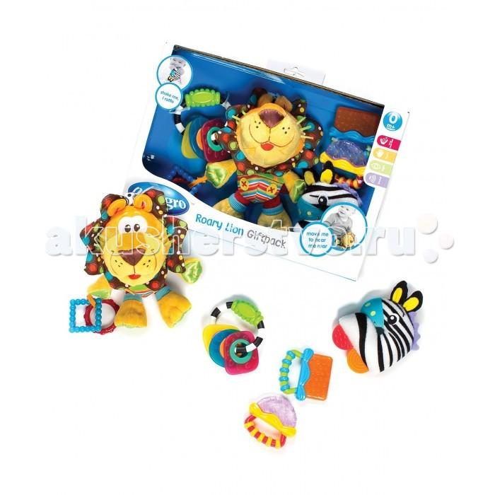 Подвесная игрушка Playgro Игровой набор Львенок (5 игрушек) 0183451